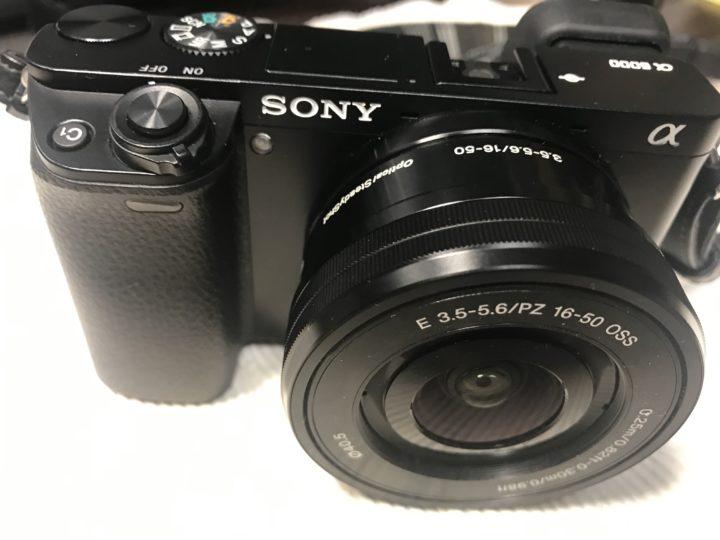 画像:SONY α6000 4