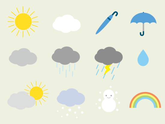 朝から晩まで気象情報!ウェザーニュースLiVEが面白い!