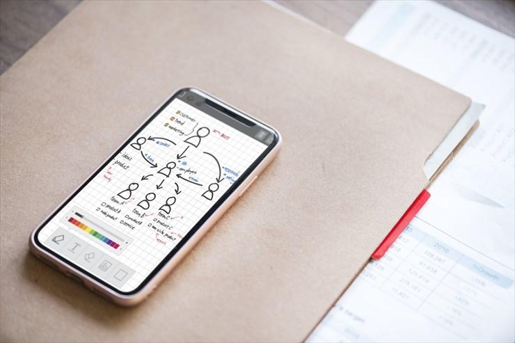 メモをとるなら紙とペンに勝る道具はない。