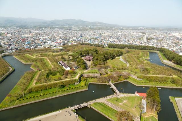 函館五稜郭。土方歳三は北の地で何を見て何を思ったのか