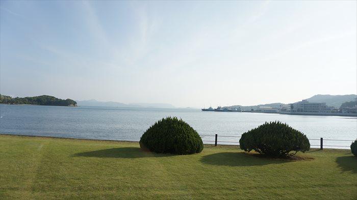 小豆島国際ホテル ロビーからの眺め