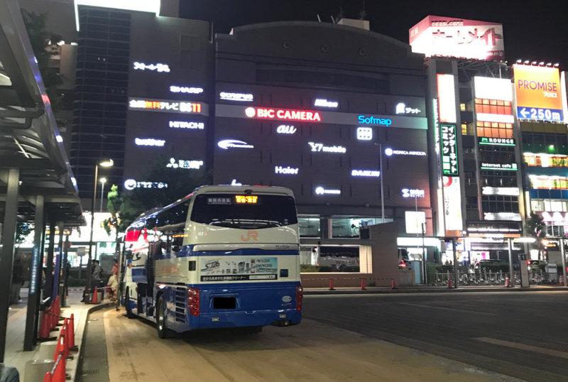 名古屋~東京間 高速夜行バス「ドリーム名古屋」の感想